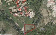 Land for sale with the area of 3676 m2